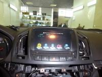 Установка мультимедийного центра Redpower на автомобиль Opel Antara