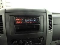 Установка и подключение магнитолы на автомобиль VW Crafter