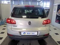 Установка мультимедийного центра iBix на VW Tiguan