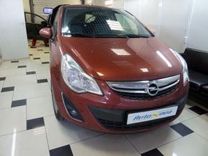 Установка 4-х датчикового парктроника ParkMaster на автомобиль Opel Corsa