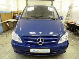 Установка мультимедийного центра и парковочной камеры RedPower на автомобиль Mercedes Vito