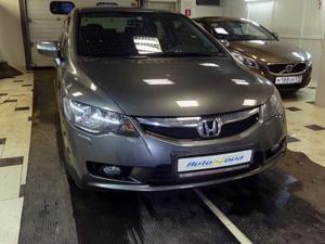 Установка парктроника ParkMaster на автомобиль Honda Civic VIII