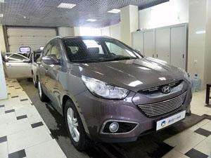 Установка мультимедийного центра Navipilot на автомобиль Hyundai ix35