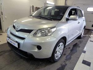 Установка охранного комплекса Pandora с реализацией функции автозапуска на автомобиль Toyota Urban Cruiser