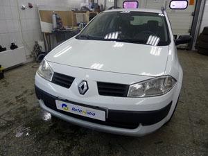 Установка предпускового подогревателя Eberspacher (Эберспейхер) с подключением мини-таймера на автомобиль Renault Megane