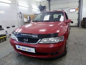 Установка охранного комплекса Pandora на автомобиль Opel Vectra B